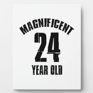 TRENDING 24 YEAR OLD BIRTHDAY DESIGNS PLAQUE