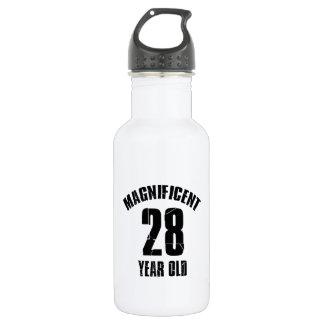 TRENDING 28 YEAR OLD BIRTHDAY DESIGNS 532 ML WATER BOTTLE