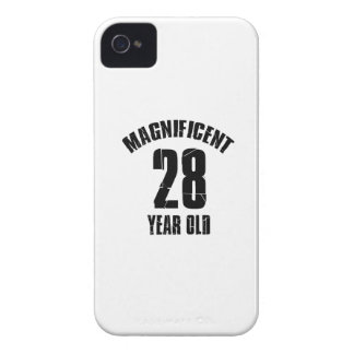TRENDING 28 YEAR OLD BIRTHDAY DESIGNS iPhone 4 CASE