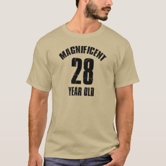 TRENDING 28 YEAR OLD BIRTHDAY DESIGNS T-Shirt