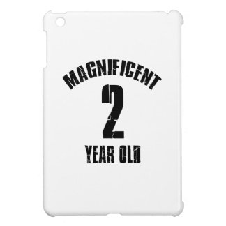 TRENDING 2 YEAR OLD BIRTHDAY DESIGNS COVER FOR THE iPad MINI