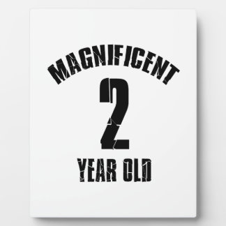 TRENDING 2 YEAR OLD BIRTHDAY DESIGNS PLAQUE