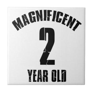 TRENDING 2 YEAR OLD BIRTHDAY DESIGNS TILE
