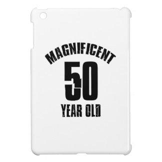 TRENDING 50 YEAR OLD BIRTHDAY DESIGNS iPad MINI CASE