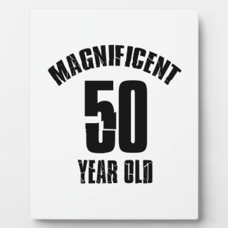 TRENDING 50 YEAR OLD BIRTHDAY DESIGNS PLAQUE