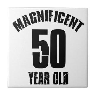 TRENDING 50 YEAR OLD BIRTHDAY DESIGNS TILES