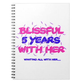 Trending 5th marriage anniversary designs notebooks