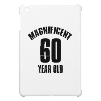 TRENDING 60 YEAR OLD BIRTHDAY DESIGNS CASE FOR THE iPad MINI