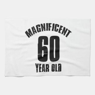 TRENDING 60 YEAR OLD BIRTHDAY DESIGNS KITCHEN TOWEL