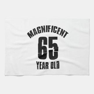 TRENDING 65 YEAR OLD BIRTHDAY DESIGNS KITCHEN TOWEL