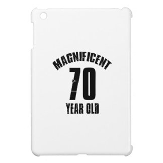 TRENDING 70 YEAR OLD BIRTHDAY DESIGNS iPad MINI COVER