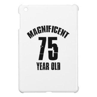 TRENDING 75 YEAR OLD BIRTHDAY DESIGNS iPad MINI CASES