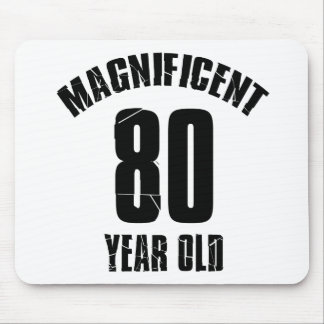 TRENDING 80 YEAR OLD BIRTHDAY DESIGNS MOUSE PAD