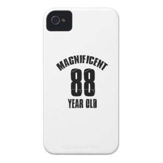 TRENDING 88 YEAR OLD BIRTHDAY DESIGNS iPhone 4 Case-Mate CASE