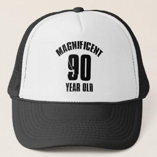 TRENDING 90 YEAR OLD BIRTHDAY DESIGNS TRUCKER HAT