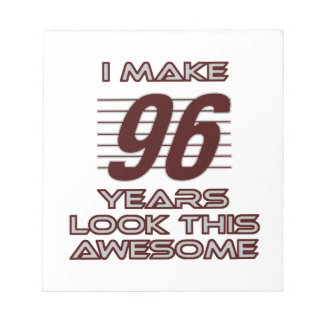 TRENDING 96 YEAR OLD BIRTHDAY DESIGNS NOTEPAD