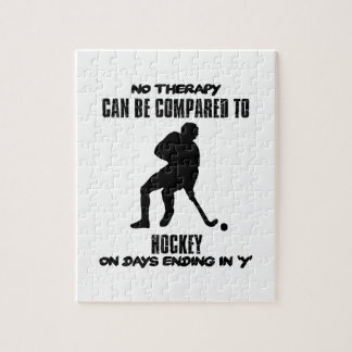 Trending and awesome Hockey designs Puzzle