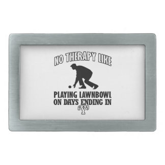 Trending and awesome lawn-bowl designs rectangular belt buckles