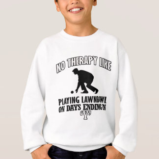 Trending and awesome Lawn-bowl designs Sweatshirt