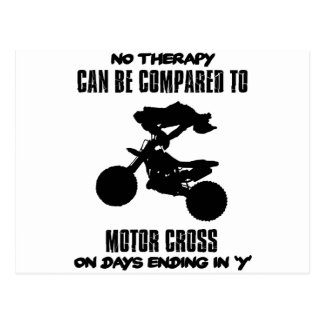 Trending and awesome Motor Crossing designs Postcard