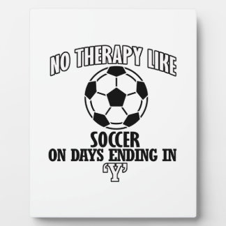 Trending and awesome Soccer designs Plaque