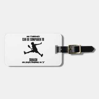 Trending and awesome Squash designs Luggage Tag