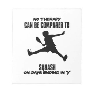 Trending and awesome Squash designs Notepads