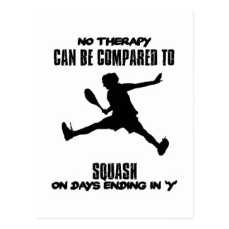 Trending and awesome Squash designs Postcard