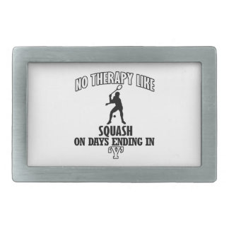 Trending and awesome squash designs rectangular belt buckles