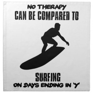 Trending and awesome Surfing designs Napkin