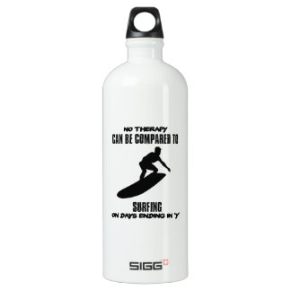 Trending and awesome Surfing designs Water Bottle