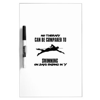Trending and awesome Swimming designs Dry Erase Whiteboards