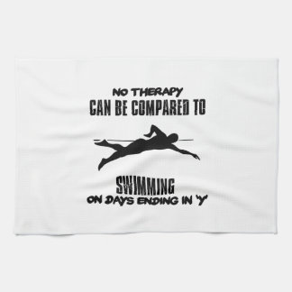 Trending and awesome Swimming designs Kitchen Towel
