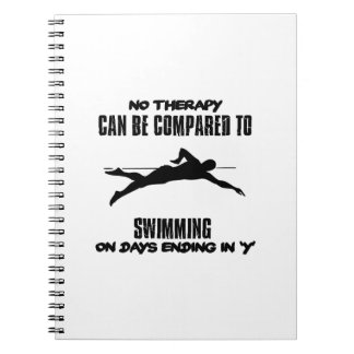 Trending and awesome Swimming designs Notebook