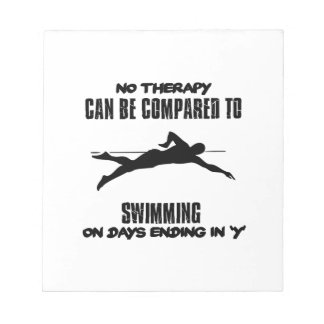 Trending and awesome Swimming designs Notepad