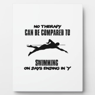 Trending and awesome Swimming designs Plaque
