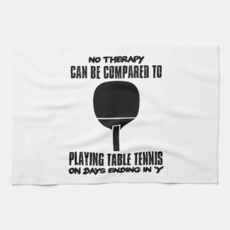 Trending and awesome Table Tennis designs Kitchen Towel