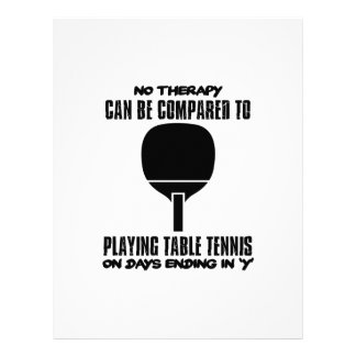Trending and awesome Table Tennis designs Letterhead