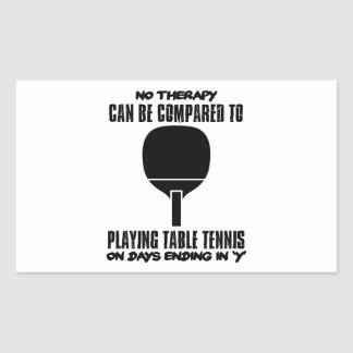 Trending and awesome Table Tennis designs Sticker