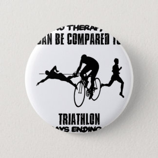Trending and awesome TRIATHLON designs 2 Inch Round Button