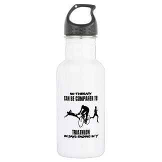 Trending and awesome TRIATHLON designs 532 Ml Water Bottle