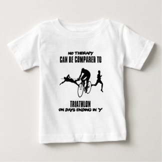 Trending and awesome TRIATHLON designs Baby T-Shirt