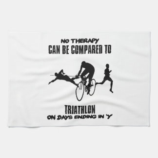 Trending and awesome TRIATHLON designs Kitchen Towel