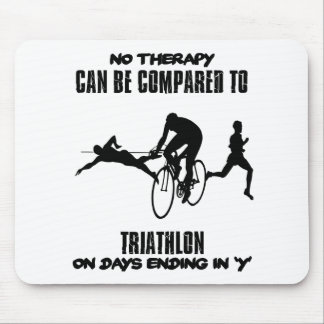 Trending and awesome TRIATHLON designs Mouse Pad