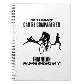 Trending and awesome TRIATHLON designs Notebook