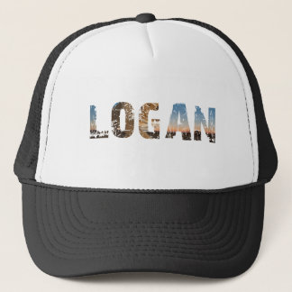 TRENDING and cool Logan name designs Trucker Hat