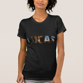 TRENDING and cool Lucas name designs T-Shirt