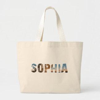 TRENDING and cool Sophia name designs Large Tote Bag