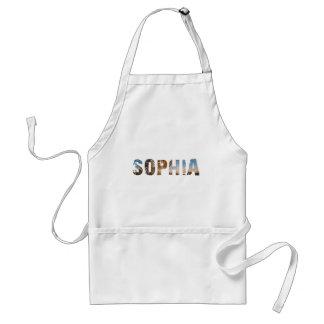 TRENDING and cool Sophia name designs Standard Apron