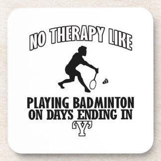 Trending Badminton designs Coaster